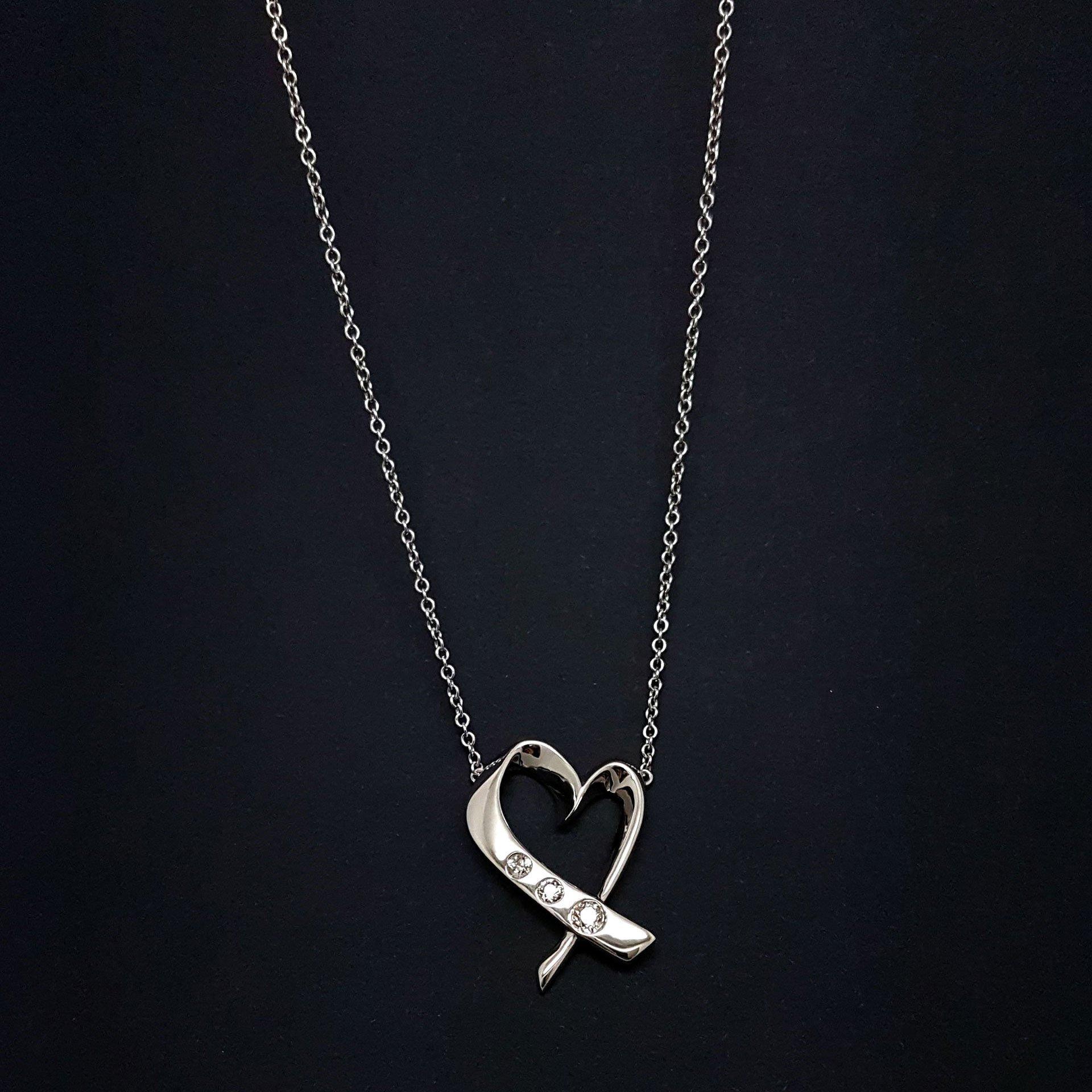 A heart pendant