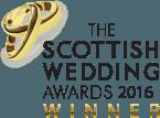Scottish Wedding Awards winner logo 2016