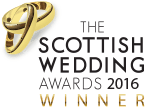 Scottish Wedding Awards winner logo 2016