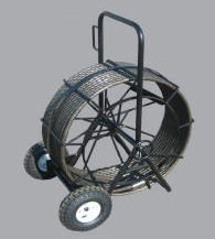Wire Rope and Wheeled Basket