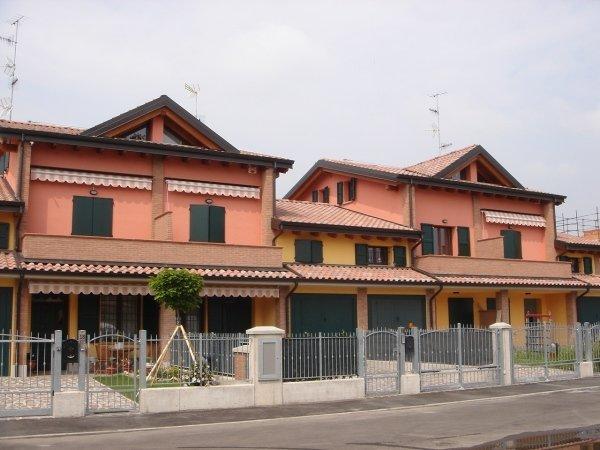 case a schiera PP26 Nizzola  GUASTALLA Lombardo Costruzioni