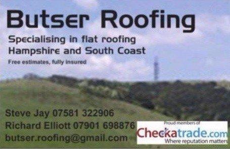 Butser Roofing Company Logo