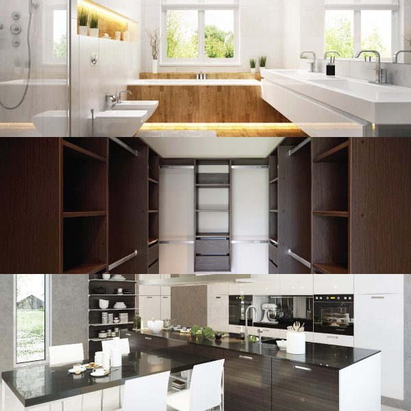 Get Experienced Assistance for Your Kitchen or Bathroom Remodeling Project. Kitchen Remodel Commack  NY   Bathroom Remodel Dix Hills