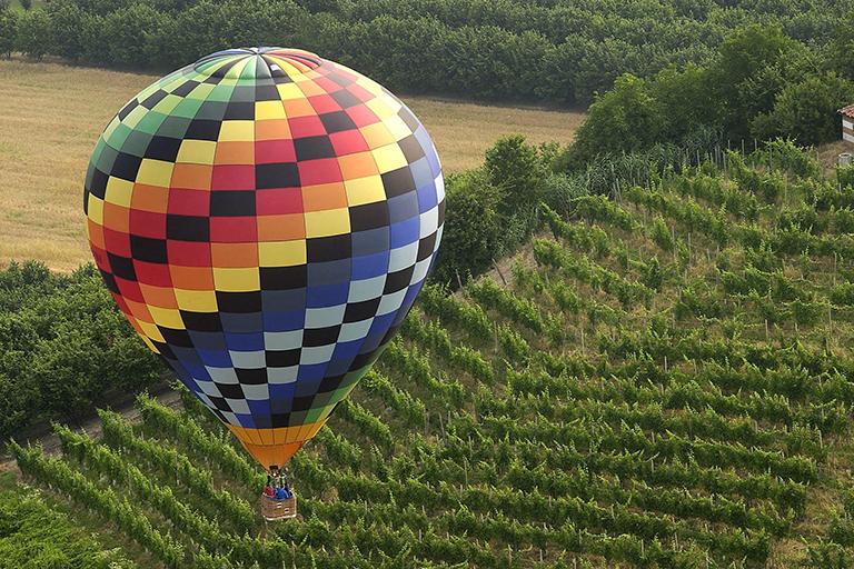 Hot-air balloon trips
