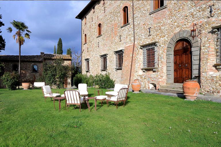 Castello di Bibbione near Florence