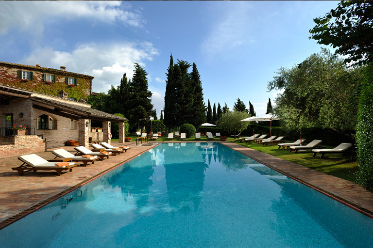 Borgo San Felice near Siena