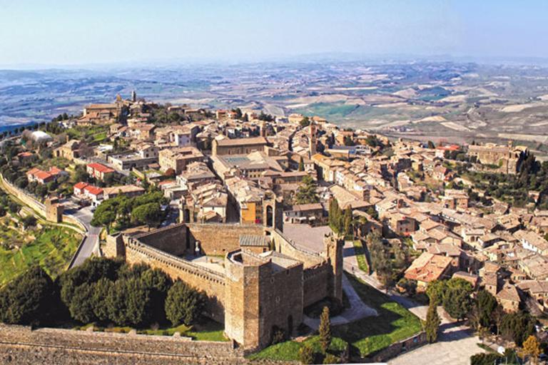 Panoramic view of Montalcino
