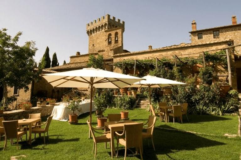 Castello di Gargonza near Siena