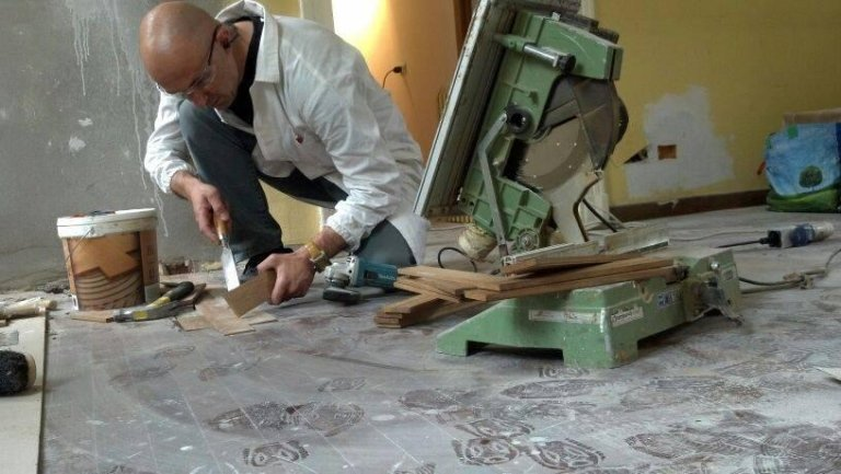 Lavori di falegnameria