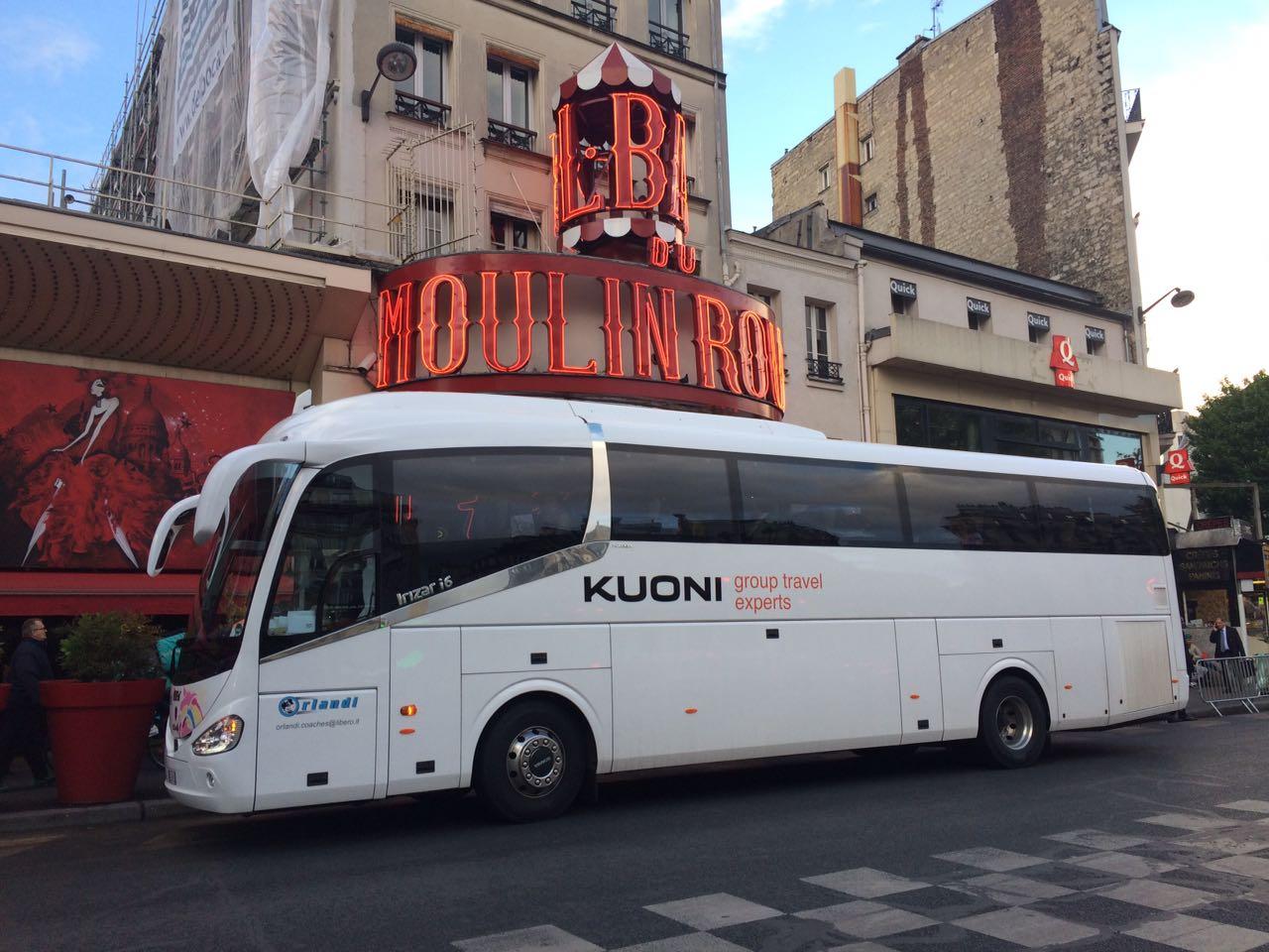 Noleggio pullman gran turismo