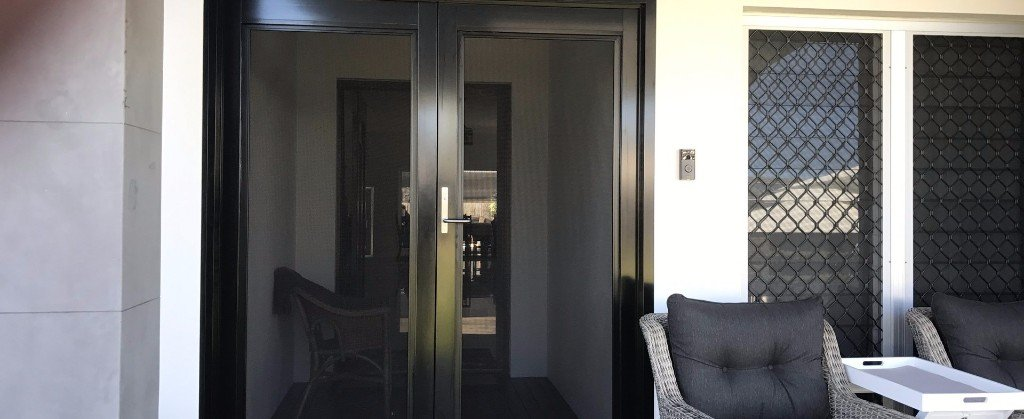 SecureView Stainless Steel Security Doors