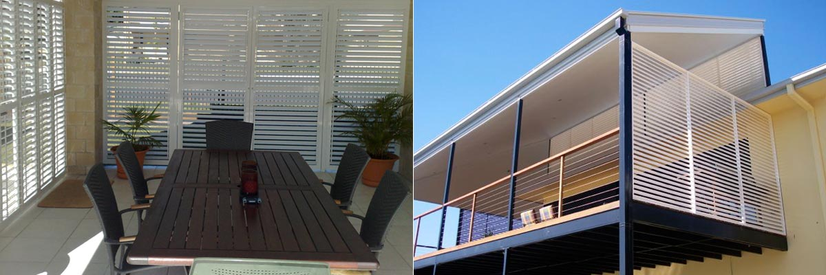 Aluminium Shutters & Privacy Screen
