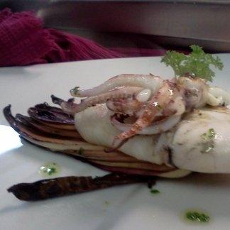 Calamaro gratinato