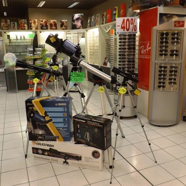 ampia scelta telescopi
