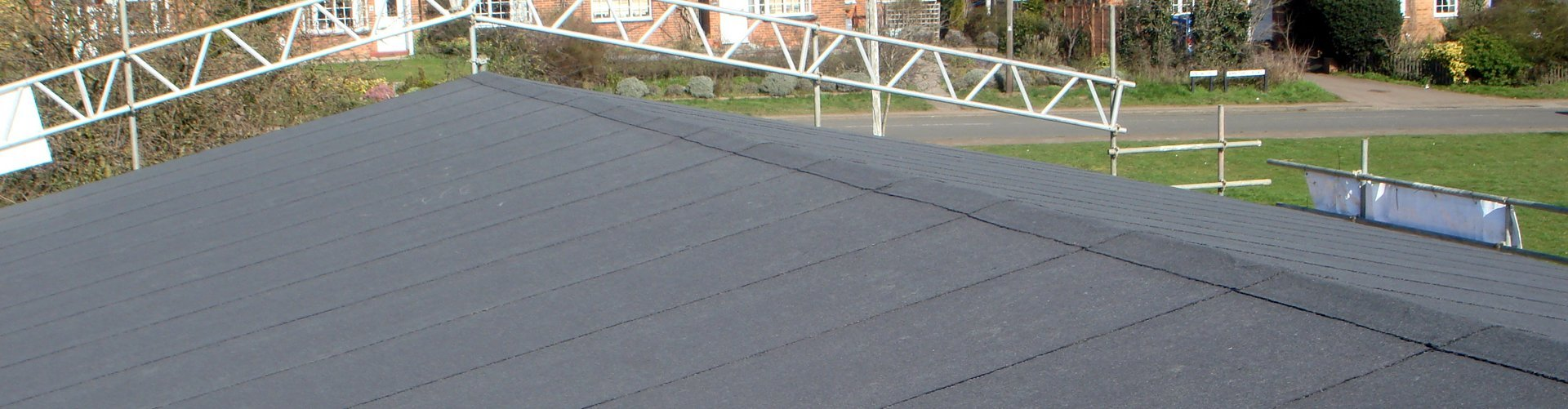 A newly laid flat roof by Accurate Flat Roofing