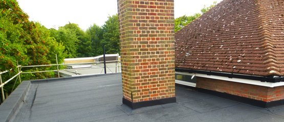A beautifully fitted flat roof at Knowles Nursery School