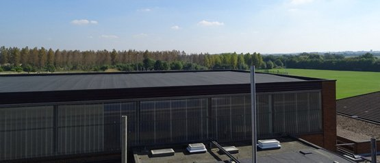 A perfect flat roof installed by Accurate Flat Roofing