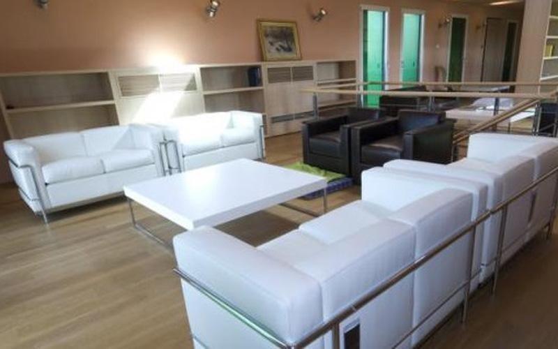 Salotto cantina Renzo Piano
