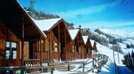 Villaggio turistico in montagna