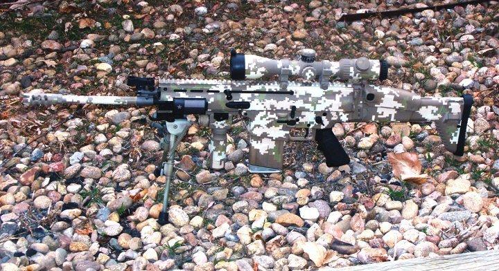 SCAR Digital Camouflage