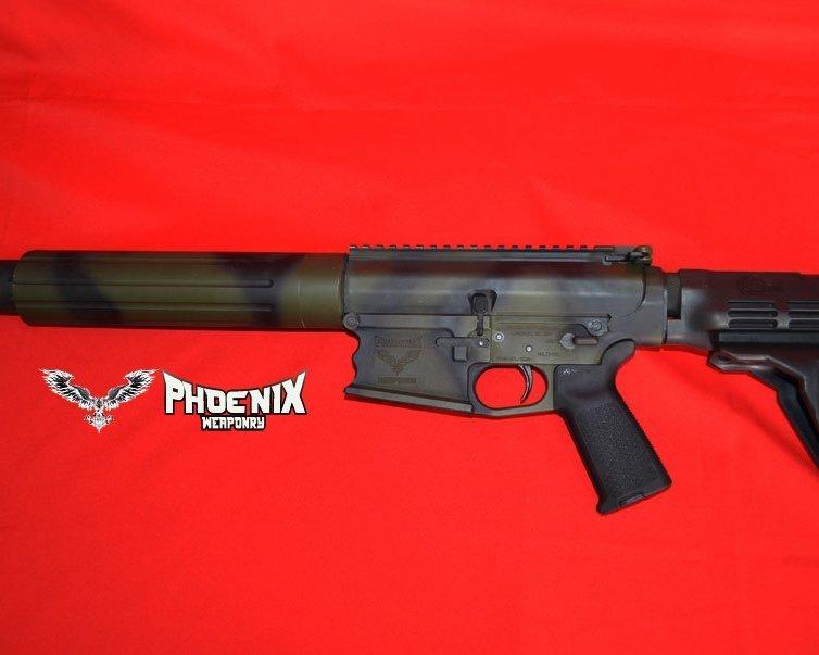 hoenix Weaponry PHNX-RFL Yvette .308 pistol