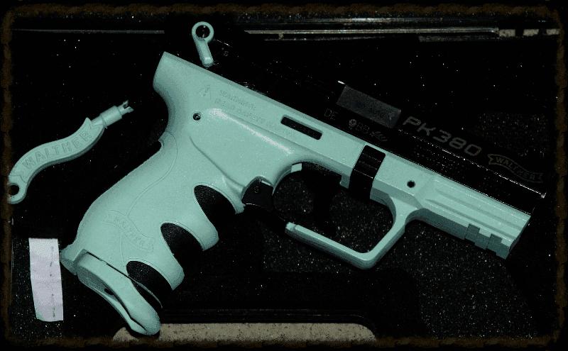 Walther PK380 Botonical Green