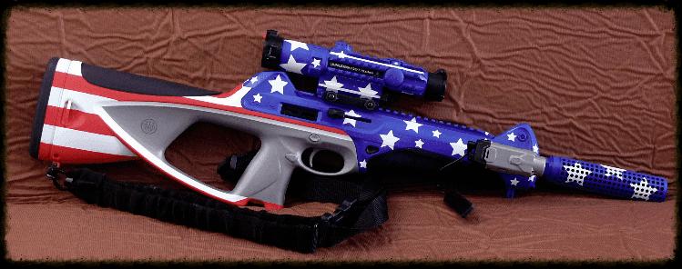 Captain America Patriotic Camouflage