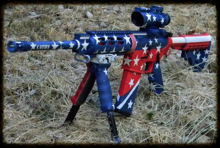 Patriotic AR Starts and stripes