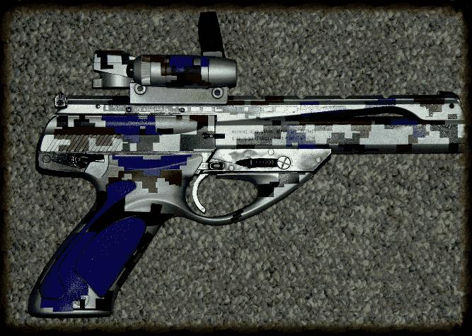 Beretta Neos Blue Digital Camouflage