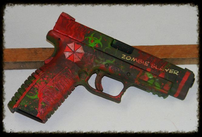 XDM Zombie Gun