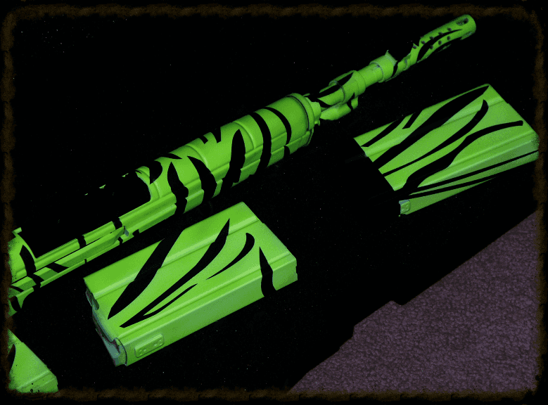 Fluorescent Tiger Stripe Garand M1