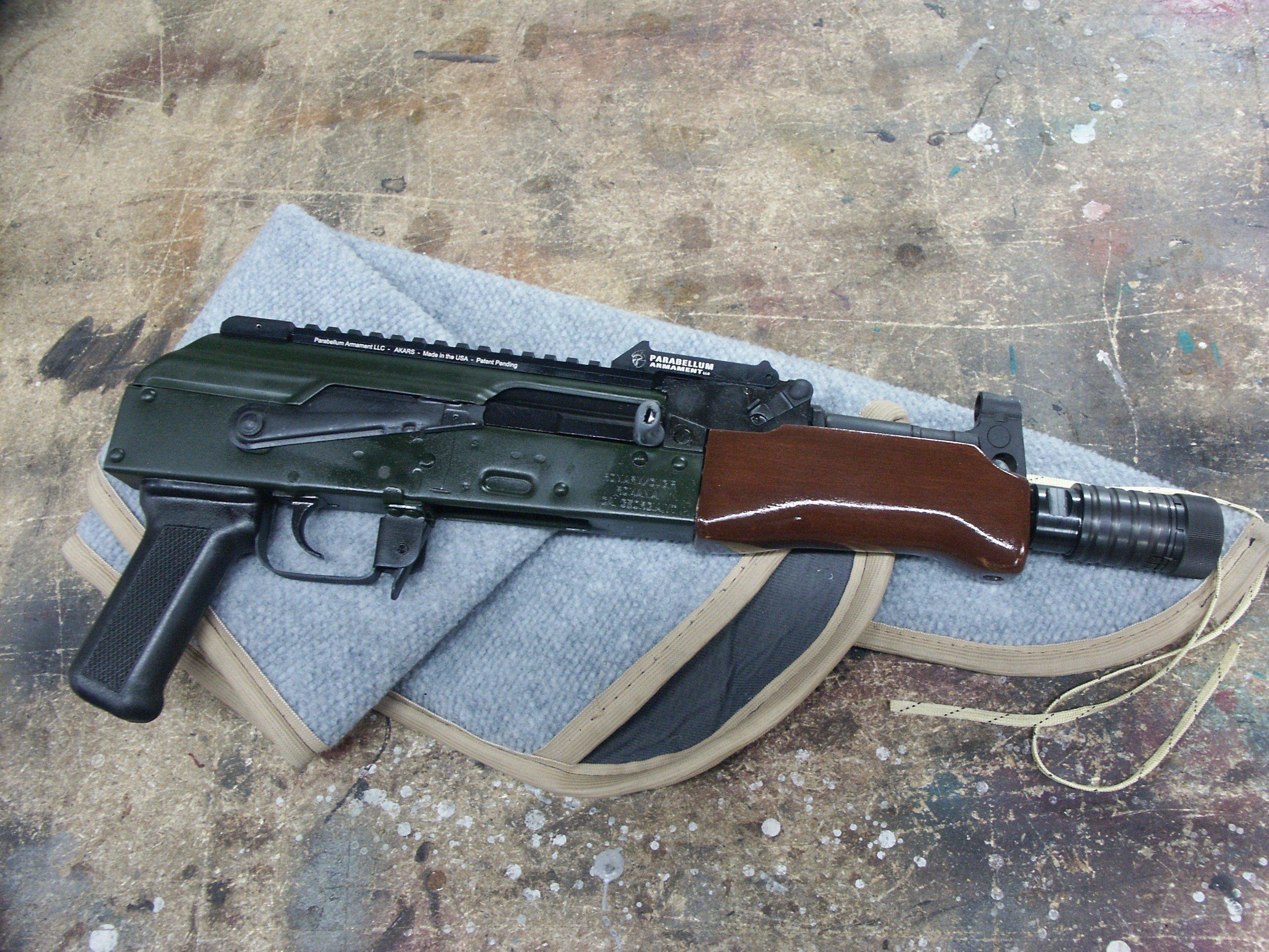 Russian Green AK Pistol