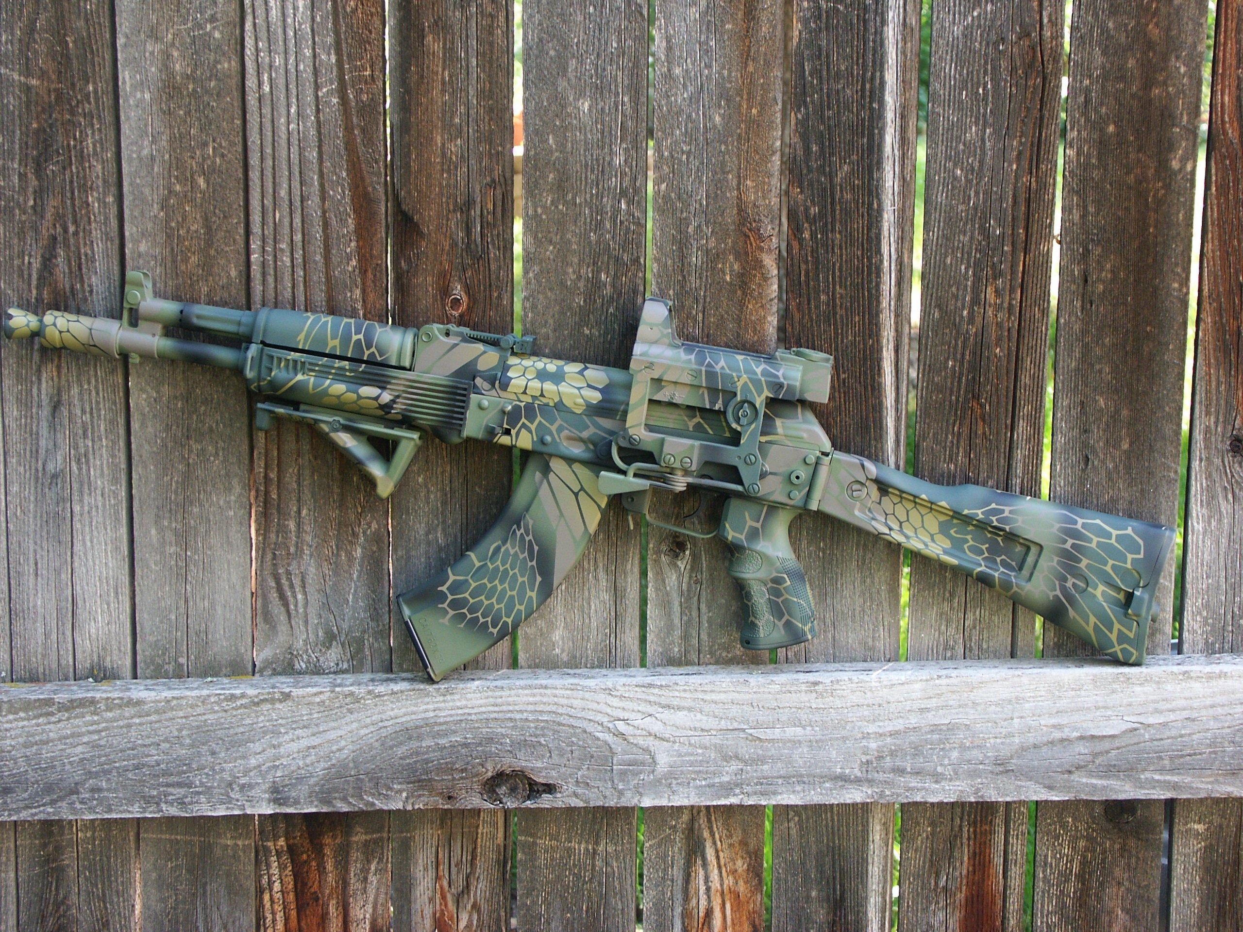 AK-47 Russian Style Kryptek