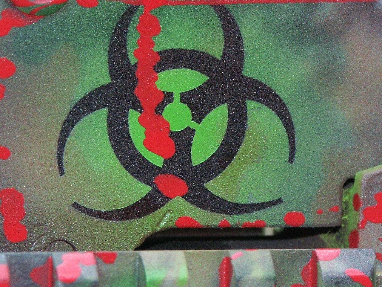 Biohazard coating