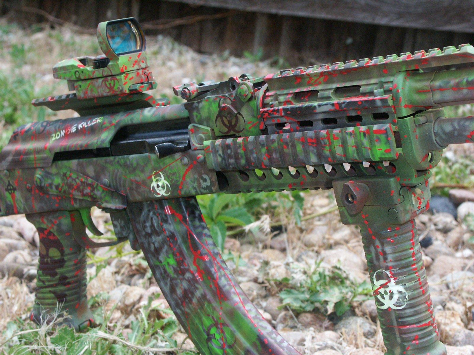 AK-47 Zombie Camouflage