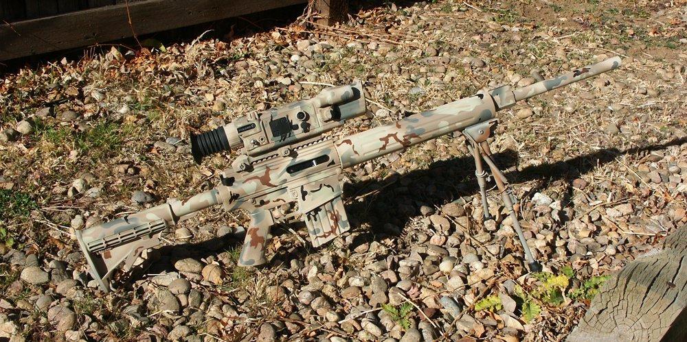AR-10 USMC Camouflage