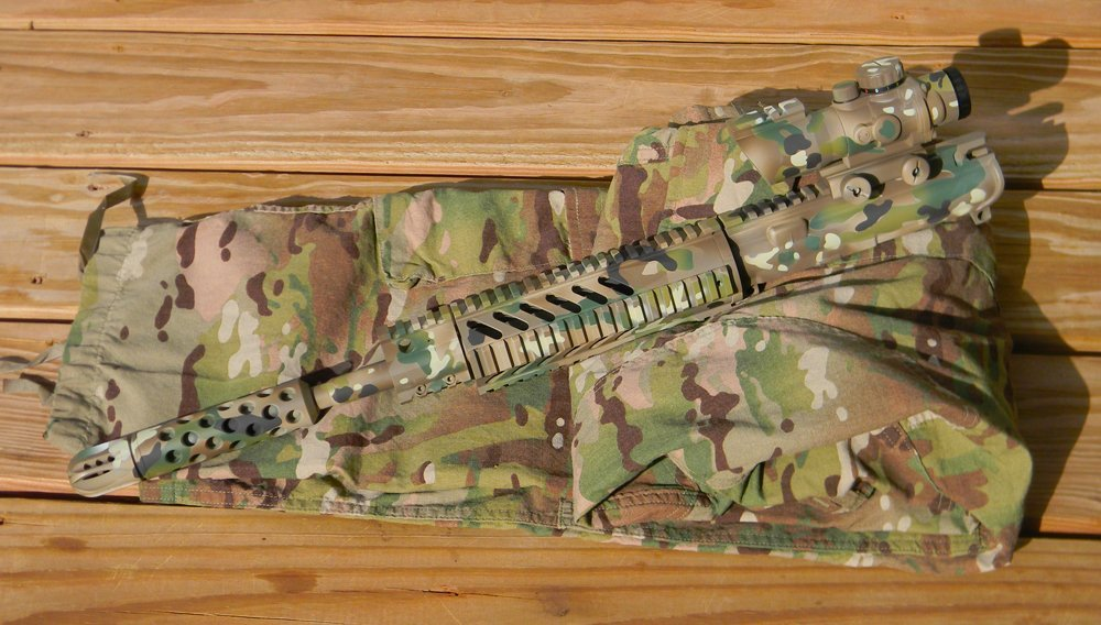 Multicam Camouflage AR-15