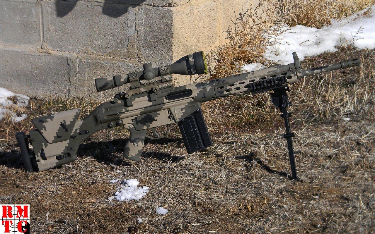 PTR-91 Digital Camouflage