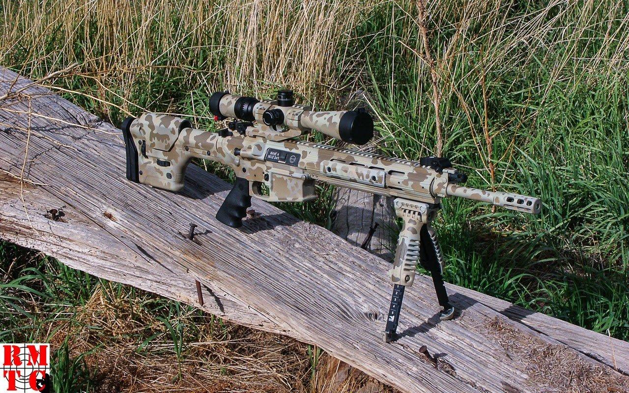 Ruger SR762 Flecktarn Camouflage