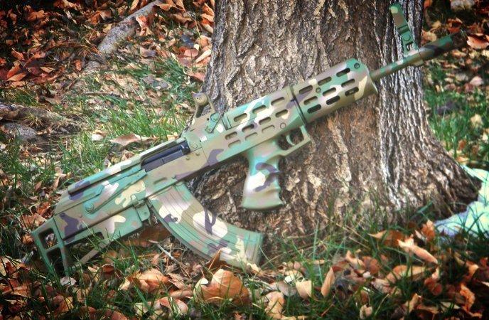 Multicam Bullpup AK-47
