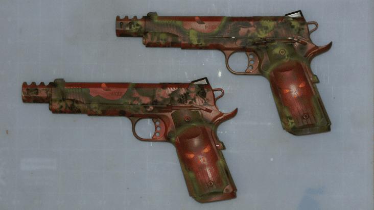 Punisher 1911 Coating