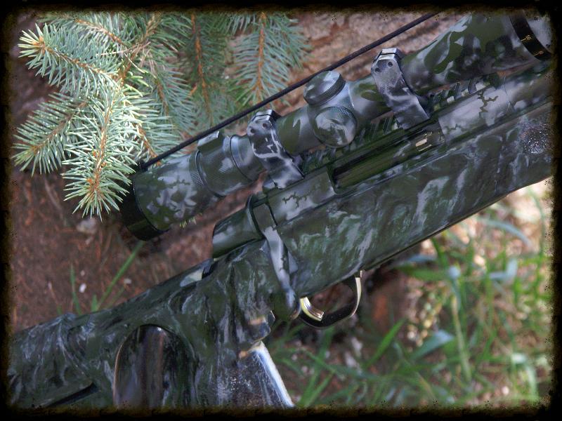 McMillan Green Camouflage Match