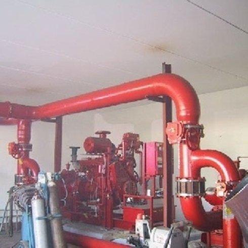 fase costruzione centrale antincendio