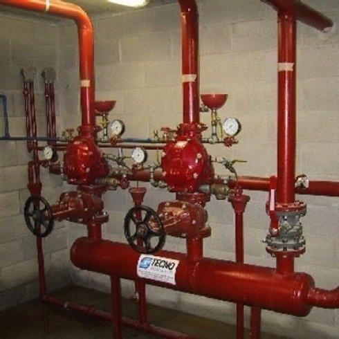 raiser impianto antincendio a umido