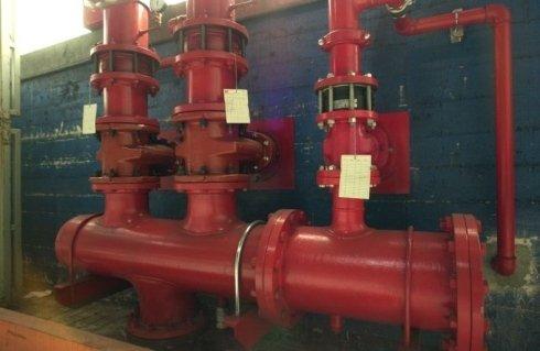Raiser impianti splinker -idranti con volantini di manovra   esternamente  al fabbricato