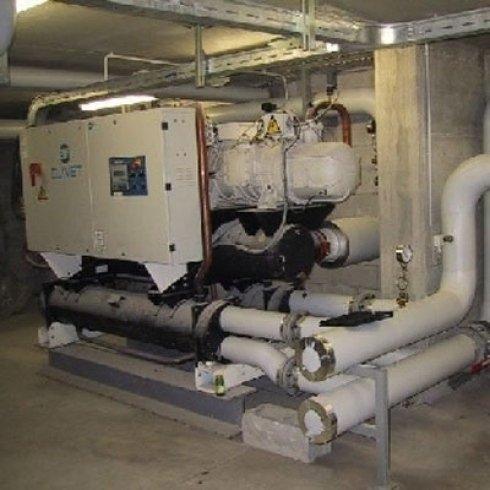 centrale frigorifera per circuiti di refrigeramento