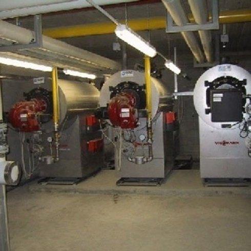 centrale termica impianto di riscaldamento