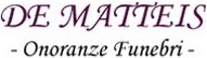 DE MATTEIS ONORANZE FUNEBRI - LOGO