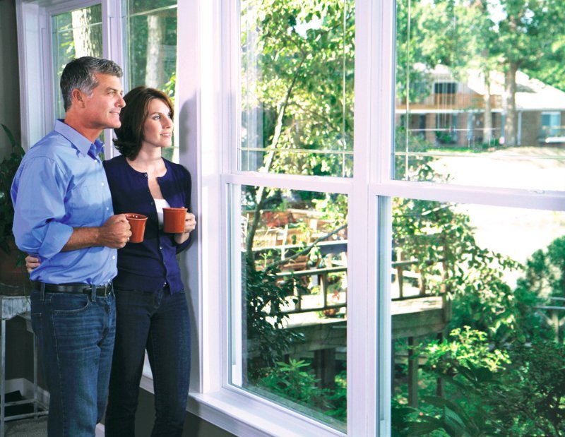 Double hung windows in Fort Smith and Springdale, AR