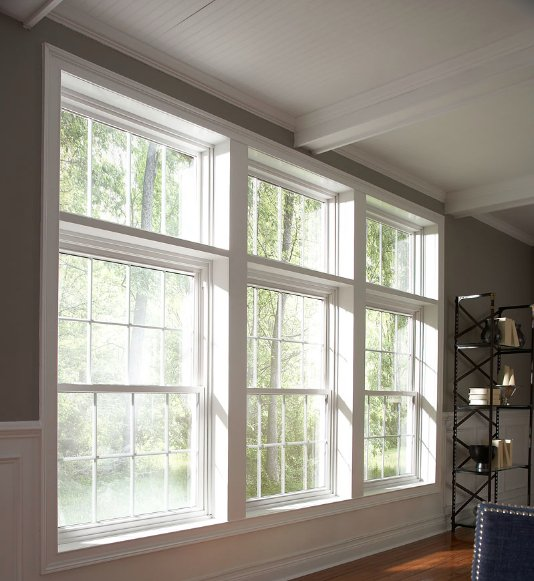 Double hung windows in Springdale and Fort Smith AR